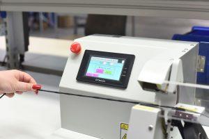 Halbautomatische Wickelmaschine des Kabelkonfektionierer Harness-Production Kroatien