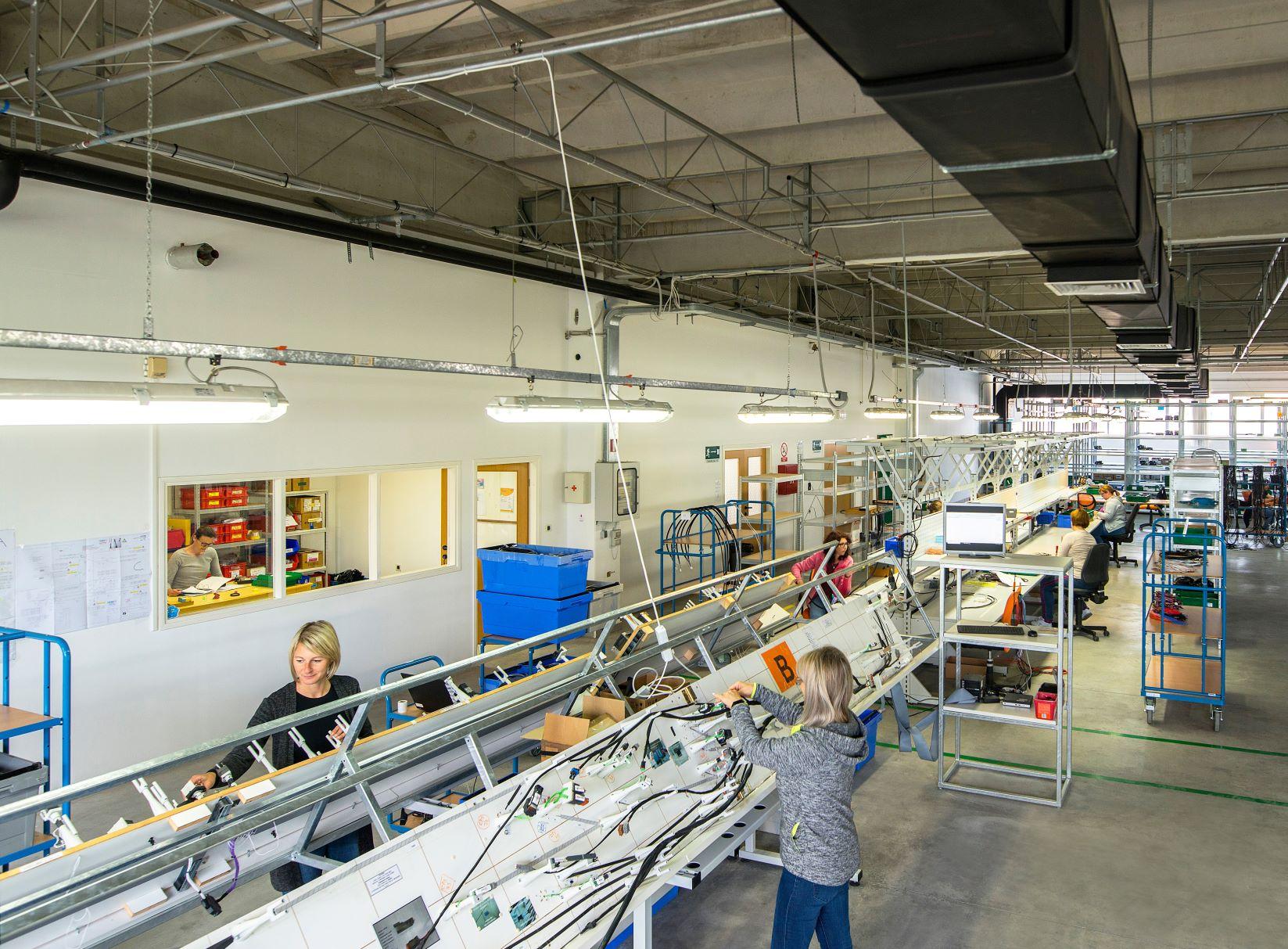 Kabelkonfektion vom Kabelkonfektionierer Harness-Production Halle allgemein