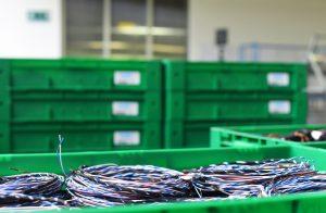 Verdrillte Kabel für CAN-Leitungen in der Kabelkonfektion web